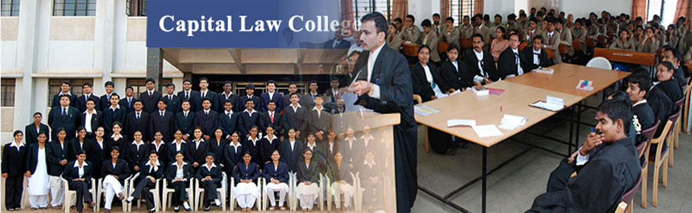 Welcome to Capital Law College